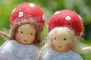 """a gallery of """"forest imp"""" dolls"""