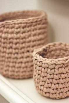 cute little baskets.