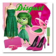 """Disgust"" by lullulu on Polyvore featuring Marc by Marc Jacobs, Vera Wang, BCBGeneration, Zodaca, Dsquared2, Tata Harper and Lime Crime"
