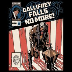 Gallifrey Falls No More - An Issue Full Of Alternative Endings - Neatorama