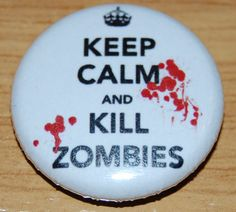 1 Inch D Pin Button Badge Keep Calm I/'m A Firefighter 25mm