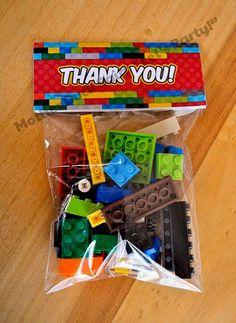 Lego Party … if the boy likes Legos. … Lego Party … if the boy likes Legos. More Lego Party … if the boy likes Legos. … Lego Party … if the boy likes Legos. Lego Party Favors, Lego Themed Party, Party Bags, Diy Lego Birthday Party Ideas, 5th Birthday Ideas For Boys, Candy Favors, Ninjago Party, Lego Ninjago, 6th Birthday Parties