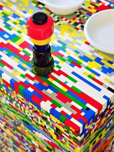 The Incredible IKEA LEGO Kitchen Island