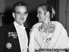 6th January 1956 (60 years ago in this 2016) Prince Rainier and Grace Kelly celebrated their engagement at the Waldorf Astoria hotel, New York