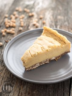 Cheesecake with chickpeas - recipe (vegan, gluten-free, sugar-free) Vegan Chickpea Recipes, Raw Food Recipes, Sweet Recipes, Dessert Recipes, Vegan Cheesecake, Cheesecake Recipes, Vegan Treats, Healthy Sweets, My Favorite Food