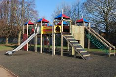 Our Fort Apache really has the WOW FACTOR when it comes to outdoor play. Plenty of play features with vibrant Playtec panels