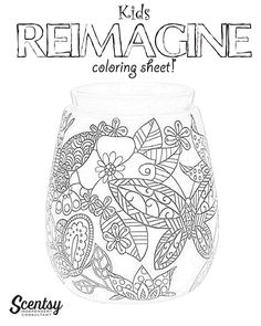 Scentsy - coloring page Krista Rector Independent Scentsy Consultant on Facebook