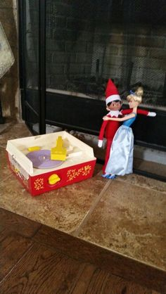 Stormy the Romantic Elf. #elfonashelf #romantic #princess