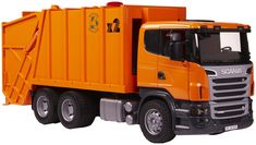 Bruder Scania R-Series Garbage Truck Dump Trucks, Toy Trucks, Swat Costume Kids, Homemade Sprinkler, Farm Toys, Garbage Truck, Pedal Cars, Transportation Design, Just Smile