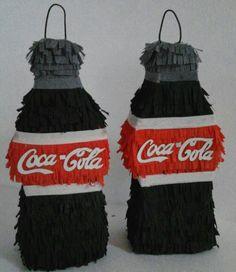 Mini piñatas de refrescos