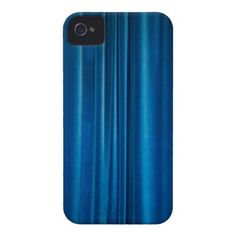 Blue drapes iphone 4 case Barely There Blue Drapes, Iphone 4 Cases, Plastic Cutting Board, Create Your Own, Fabric, Design, Tejido, Tela