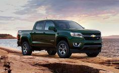 Chevy Colorado LT my next truck~ Green!!