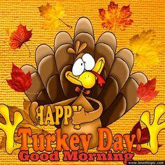 Happy Turkey Day, Good Morning