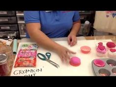 Crankin' Out Crafts ep338 - Hearty Clay Cupcakes