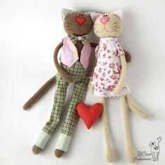 Кот и кошка игрушки