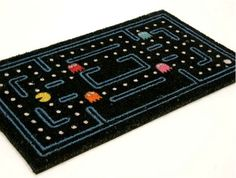 The Pac-Man Doormat Welcomes Guests Into Your Maze via @Incredible Things