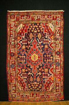 antico tappeto malajer antique rug ca. 210x134cm