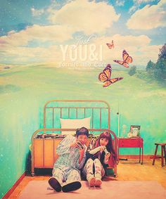 This music video is cute and sad. Park Bom 'You & I'