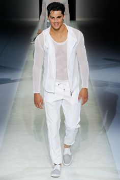 Emporio Armani Spring 2014 Men's Collection