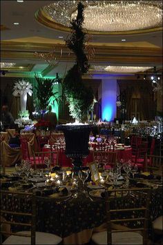Starry Starry Night Theme Wedding Table Decorations for Wedding Receptions - Article # 2503