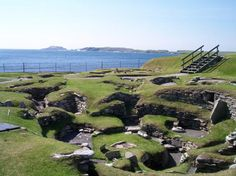 Pictures of Scatness in Shetland Islands