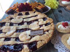 Wedding dessert table 8-23-14