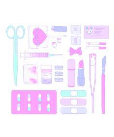 Discover ideas about pastel goth background Nurse Aesthetic, Pink Aesthetic, Mochila Pokemon, Pastel Goth Background, Nurse Drawing, Cute Nurse, Creepy Cute, Pastel Art, Nursing Students