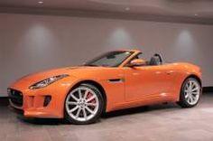 2014 Jaguar F-TYPE S *EXECUTIVE DEMONSTRATOR* Firesand Orange Convertible #Jaguarpalmbeach #Jaguarcars #FTYPE #Convertible http://www.jaguarpalmbeach.com/ Call Us: 866-296-7709