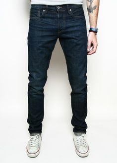 Rogue Territory SK Rough Wash Denim Selvedge Jeans