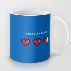 """""""The Life of a Gamer"""" Mug"""