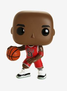 He's a giant in the world of basketball, and now he can be a giant in the world of your Funko Pop! This Michael Jordan figure stands tall wearing his iconic Chicago Bulls 23 uniform and ready to play. Jordan 10, Michael Jordan, Nba Bulls, Chicago Bulls, Rocket Pop, Harry Potter Pop, Pop Goes The Weasel, Funko Vinyl, Larry Bird