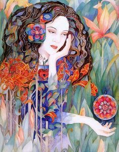 """Lady Of The Garden"" ~ Helena Nelson-Reed"