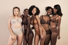 Baby, it's cold outside and this lingerie line is sure to warm things up between the sheets while also helping you love the skin you're in.