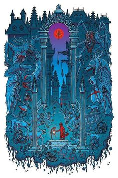 Industry Rule Number 4080 - pixalry: Bloodborne - Created by Scott Ford Sif Dark Souls, Arte Dark Souls, Castlevania Wallpaper, Pixel Art Gif, We All Mad Here, Arte 8 Bits, Bloodborne Art, Arte Obscura, Soul Art
