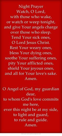 Night Prayer Watch O Lord with those who wake or watch or weep tonight and g God Prayer, Power Of Prayer, Daily Prayer, Prayer Quotes, Prayer Scriptures, Bible Teachings, Faith Quotes, Bible Quotes, Prayer Before Sleep