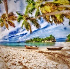 Cocoye Beach , Petit Goave - South of Haiti (photo credit Louis Eddy Bijoux)