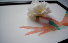 Obrazy - Kvietok v ruke/3D obraz/kvetinové umenie - 7167260_
