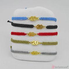 Βραχιόλι - γούρι 2020 σε πολλά χρώματα Charms, Beaded Bracelets, Jewelry, Fashion, Moda, Jewlery, Bijoux, La Mode, Pearl Bracelets
