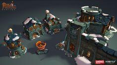 ArtStation - Albion Online : Townhalls 3d Assets, Airborn Studios