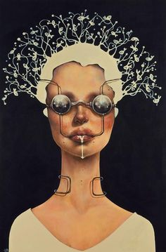 Painting by Afarin Sajedi