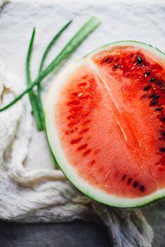 Wassermelone Kokosnuss Aloe-Saft | die Wiederfeuchtigkeitsspendende EASY Saft überhaupt!  perfekt für den Sommer!  Rezept über für Nahrung herumtollen