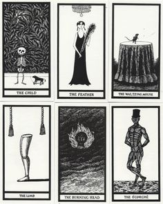 the Fantod Deck by Edward Gorey