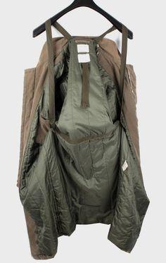 Helmut Lang Men Vintage Cotton Army Long Biker Jacket Coat Size 54 XL | eBay