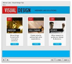 3 Visual Design Tips for Effective E-Learning » The Rapid eLearning Blog #HETS Online courses