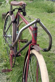 » 1917 Iver Johnson Cushion Truss Frame Track Racer The Online Bicycle Museum