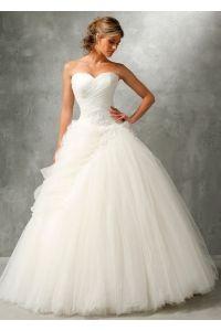 Robe de mariage Dolores en dentelle et tulle, Collection Ava Sposa 2014 - Herve Mariage Paris