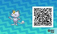 Alolan Meowth! Pokemon Sun / Moon QR Codes - Imgur