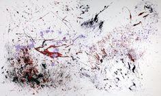 """Opera: """"SO DI NON SAPERE"""" - Acrilico su tela 120 x 200"""