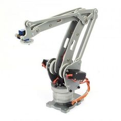 The DIY Arduino robot arm kit to simulate the palletizing activity