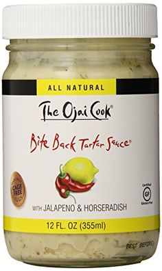 The Ojai Cook Bite Back Tartar Sauce, 12 Ounce (Pack of 2) *** You can get additional details in this image at this Dinner Ingredients board